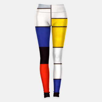 Thumbnail image of Composition A by Piet Mondrian Leggings, Live Heroes