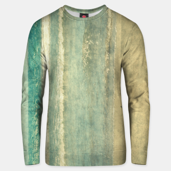Thumbnail image of Abstract seascape vintage, Beige blue ocean sea Unisex sweater, Live Heroes