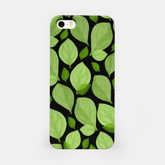 Thumbnail image of Basil Leaf Pattern iPhone Case, Live Heroes