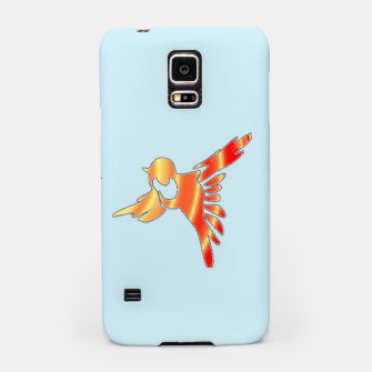 Thumbnail image of Gradient birds on blue Samsung Case, Live Heroes