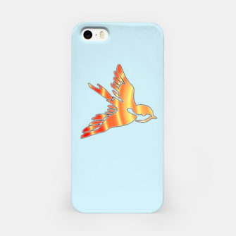 Thumbnail image of Gradient birds on blue iPhone Case, Live Heroes
