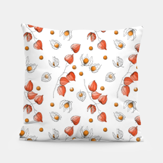 Thumbnail image of Physalis 3 half color Pillow, Live Heroes
