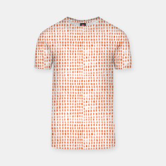 Thumbnail image of Red Watercolor Dots T-shirt, Live Heroes