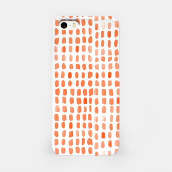 Thumbnail image of Red Watercolor Dots iPhone Case, Live Heroes