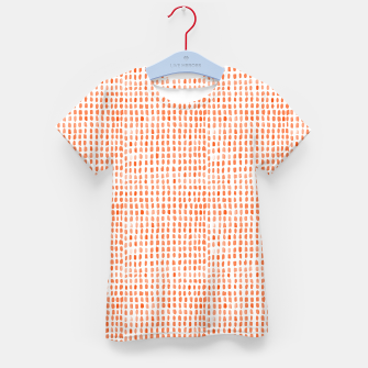 Thumbnail image of Red Watercolor Dots Kid's t-shirt, Live Heroes