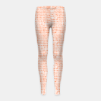 Thumbnail image of Red Watercolor Dots Girl's leggings, Live Heroes