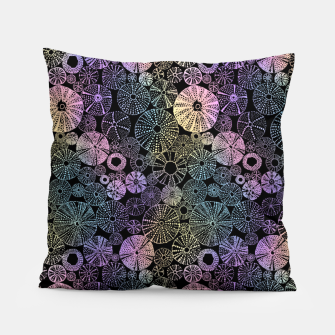 Thumbnail image of Sea Urchins Multicolor Pillow, Live Heroes