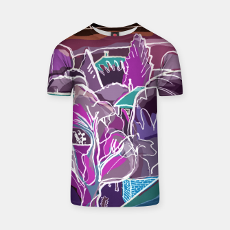 Thumbnail image of Landscape at Night T-shirt, Live Heroes