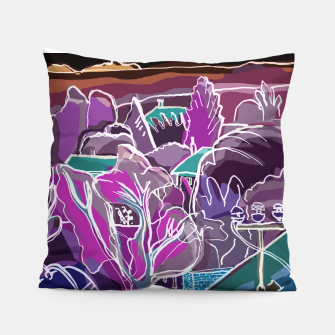 Thumbnail image of Landscape at Night Pillow, Live Heroes
