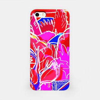 Thumbnail image of Landscape at Night in Red iPhone Case, Live Heroes