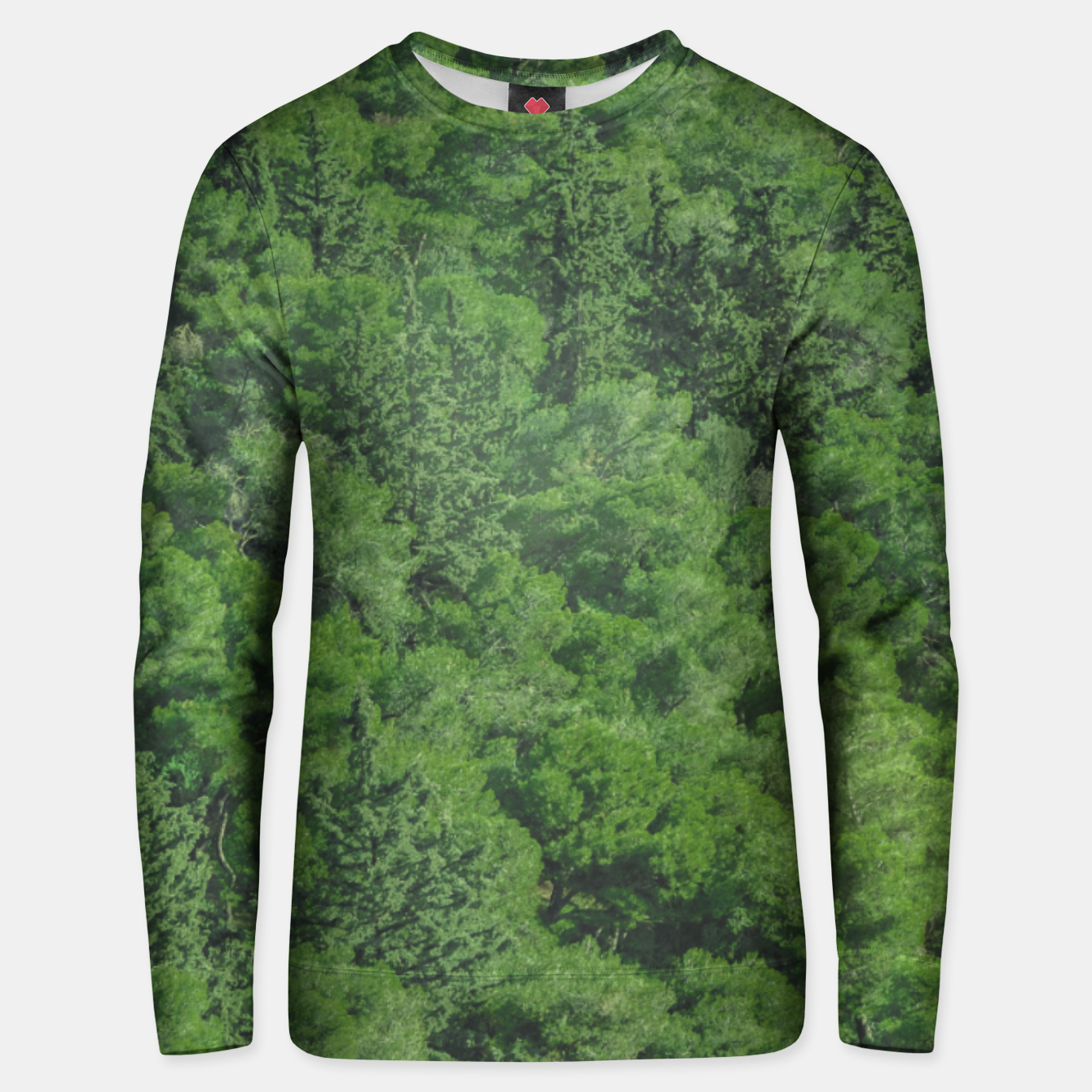 Image of Leafy Forest Landscape  Unisex sweater - Live Heroes
