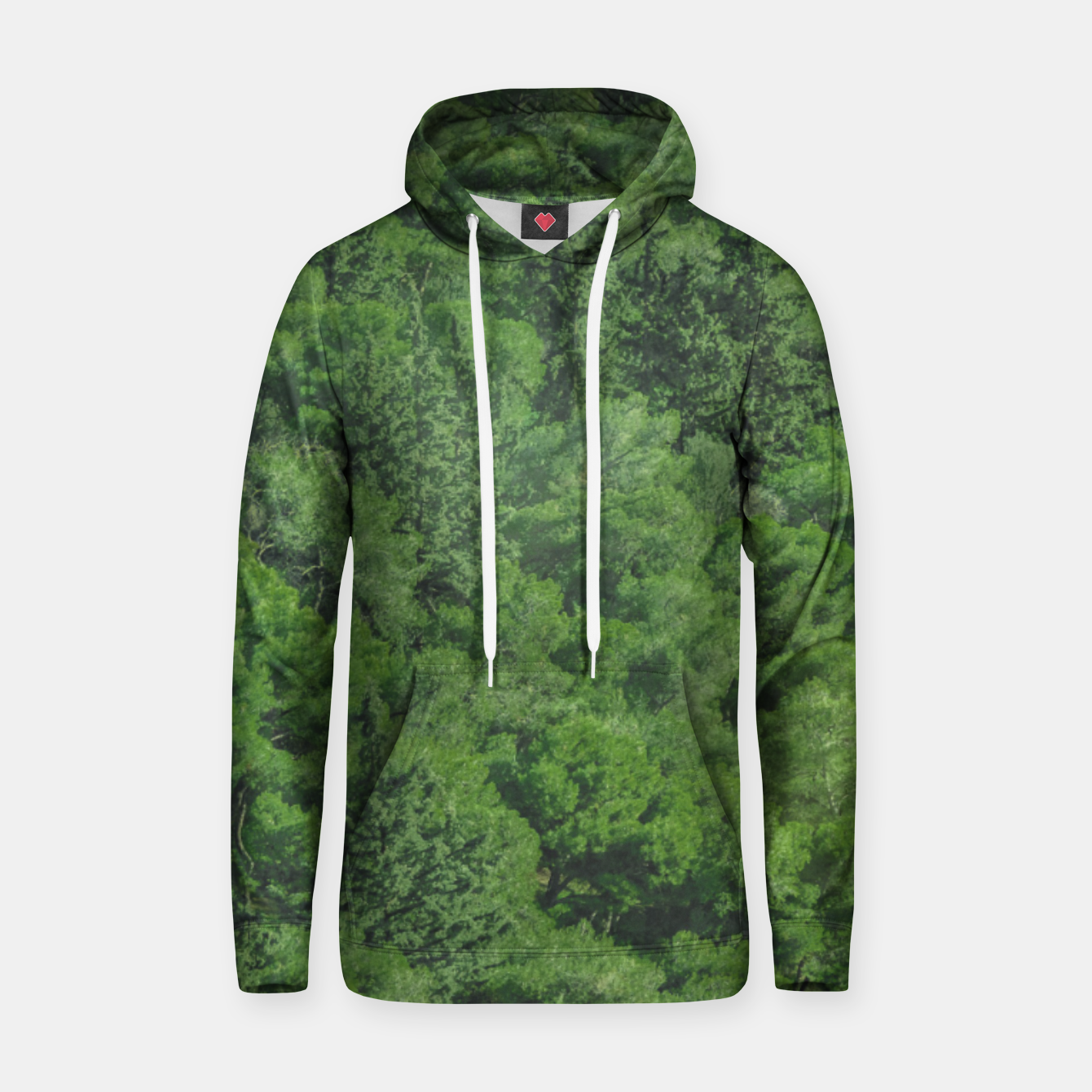 Image of Leafy Forest Landscape  Hoodie - Live Heroes