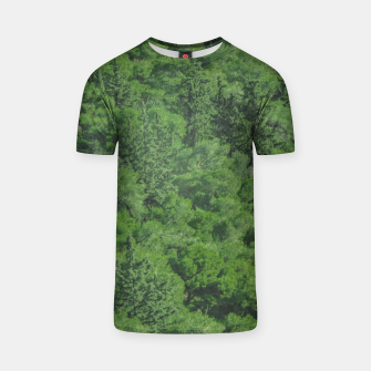 Thumbnail image of Leafy Forest Landscape  T-shirt, Live Heroes