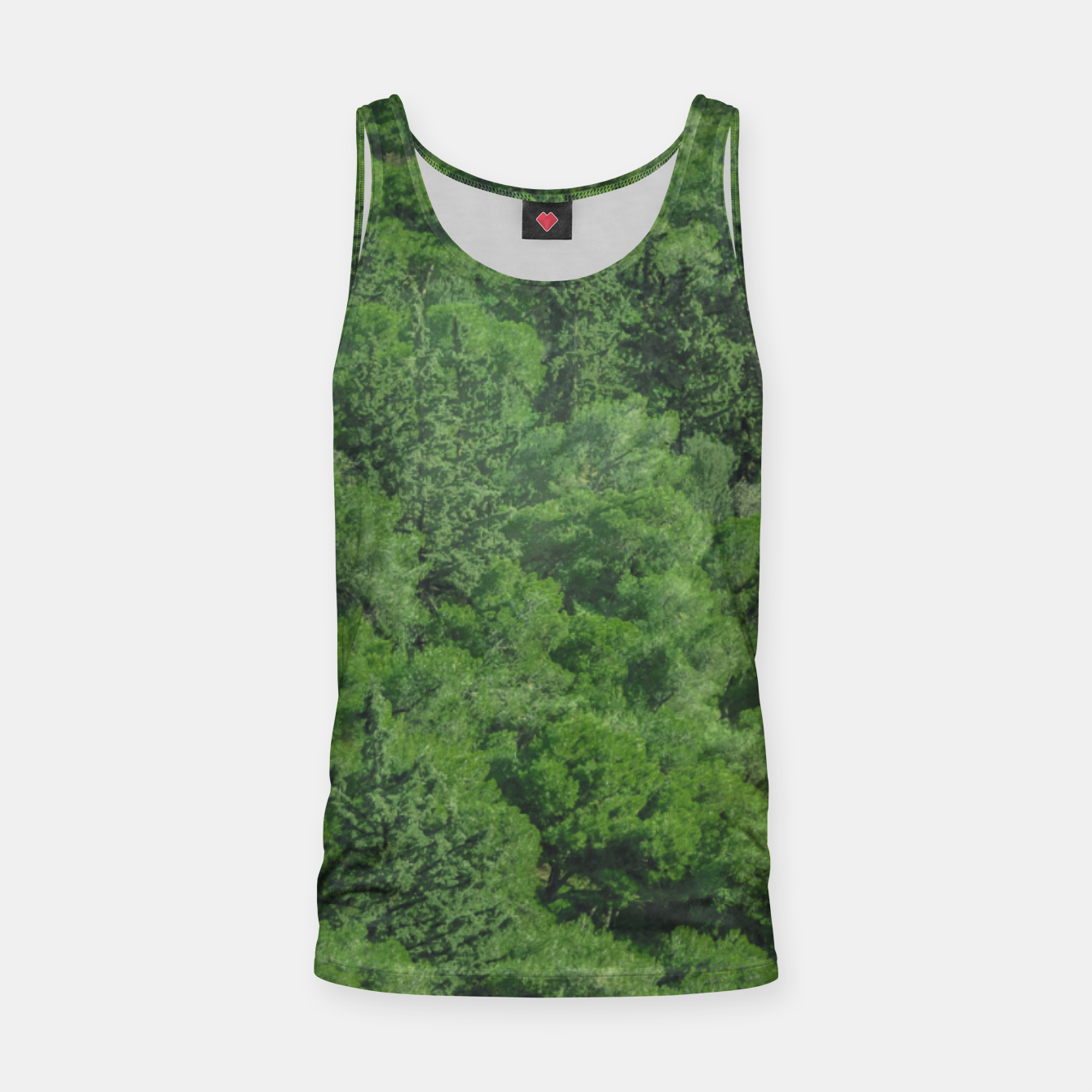Image of Leafy Forest Landscape  Tank Top - Live Heroes