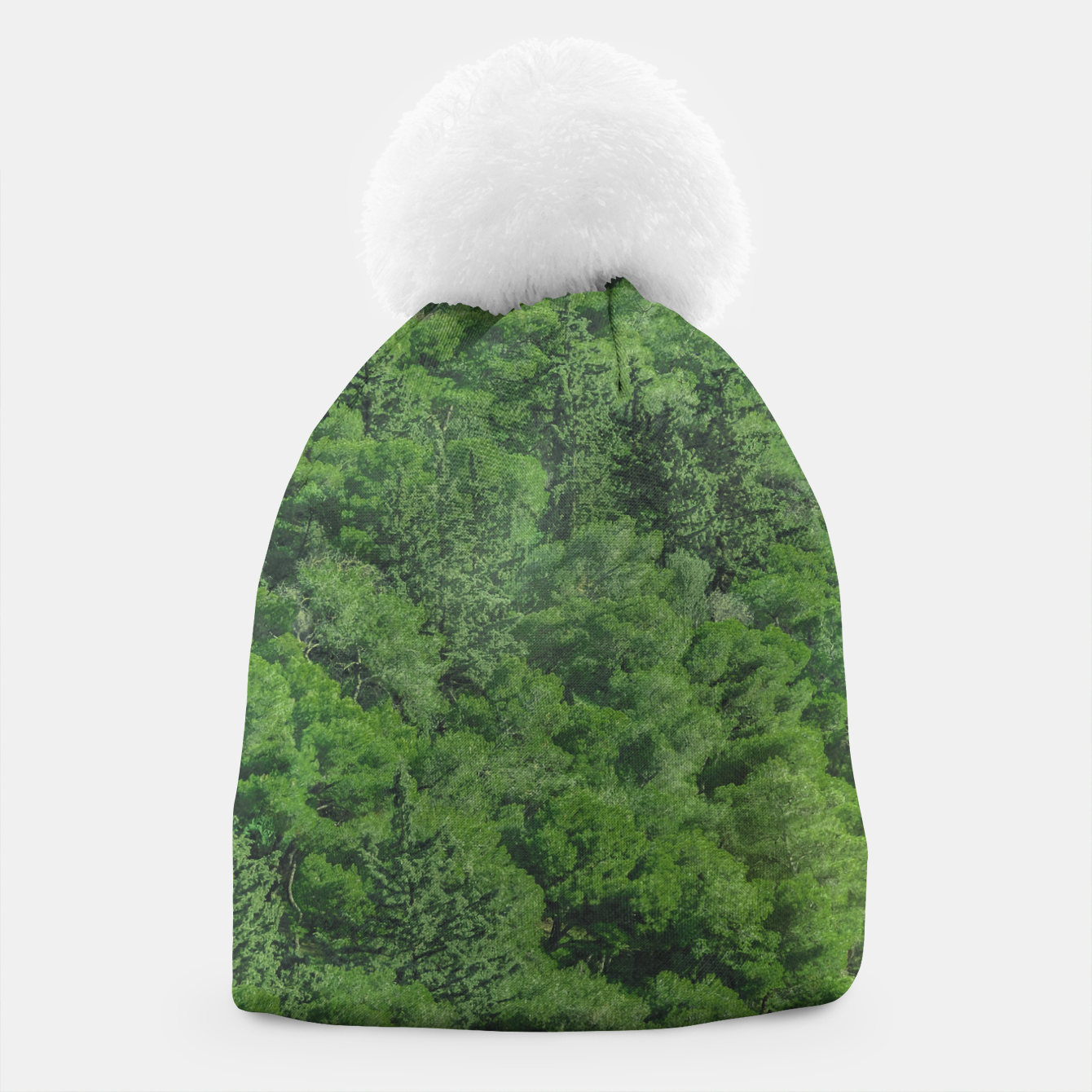 Image of Leafy Forest Landscape  Beanie - Live Heroes