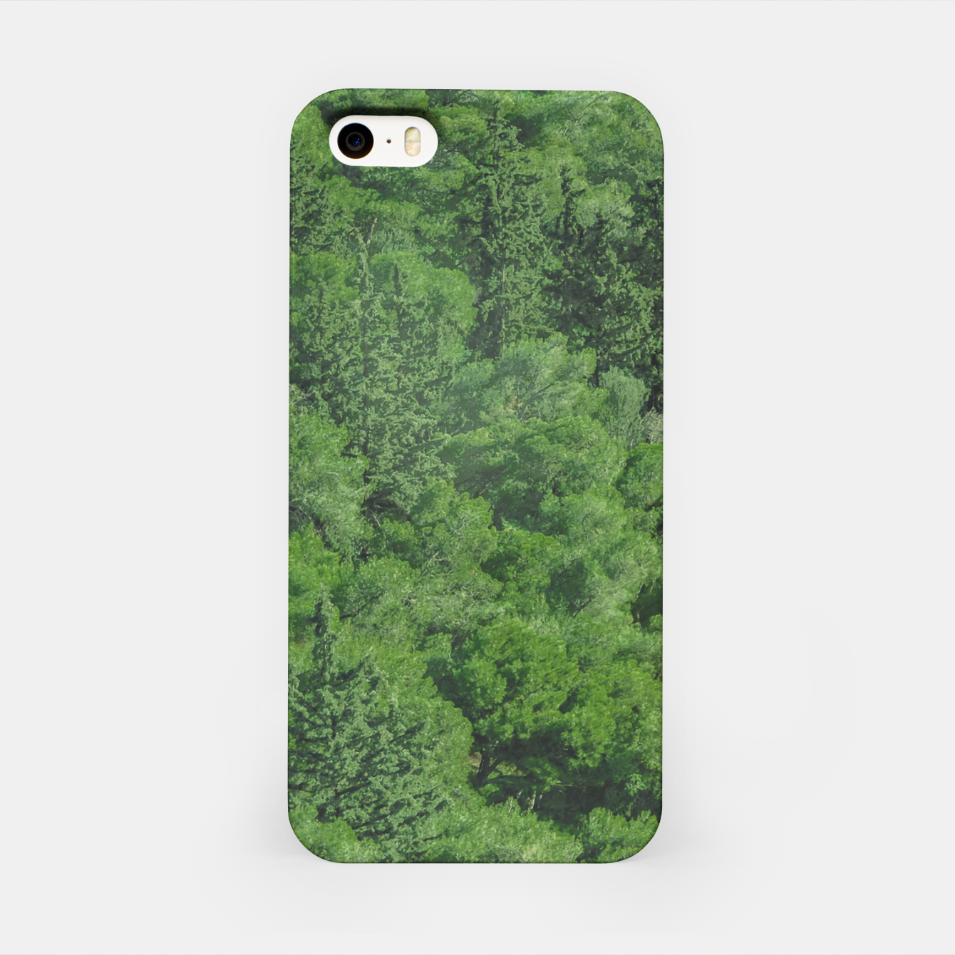 Image of Leafy Forest Landscape  iPhone Case - Live Heroes