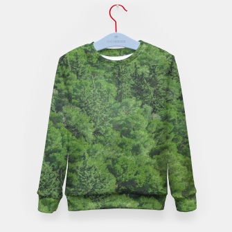 Leafy Forest Landscape  Kid's sweater thumbnail image