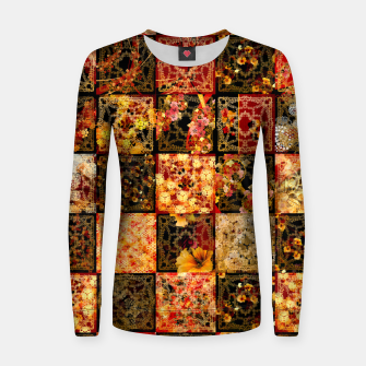 Thumbnail image of Japanese style Mosaique Women sweater, Live Heroes