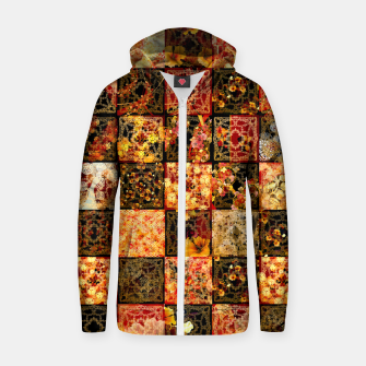 Thumbnail image of Japanese style Mosaique Zip up hoodie, Live Heroes