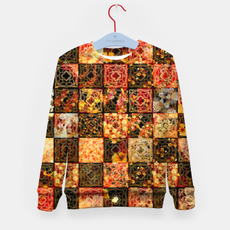 Miniaturka Japanese style Mosaique Kid's sweater, Live Heroes