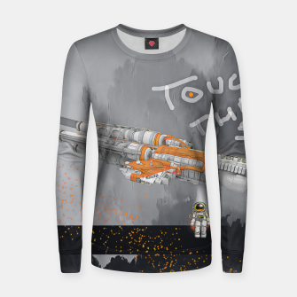 Thumbnail image of To the sky Women sweater, Live Heroes