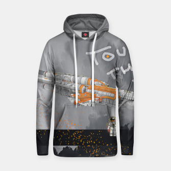 Thumbnail image of To the sky Hoodie, Live Heroes