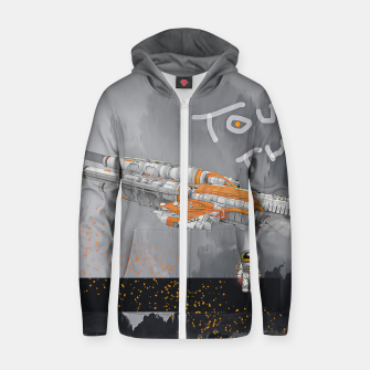 Thumbnail image of To the sky Zip up hoodie, Live Heroes