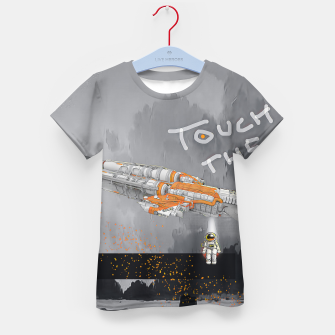 Thumbnail image of To the sky Kid's t-shirt, Live Heroes