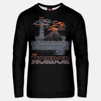 Thumbnail image of Visit Mordor Unisex sweater, Live Heroes