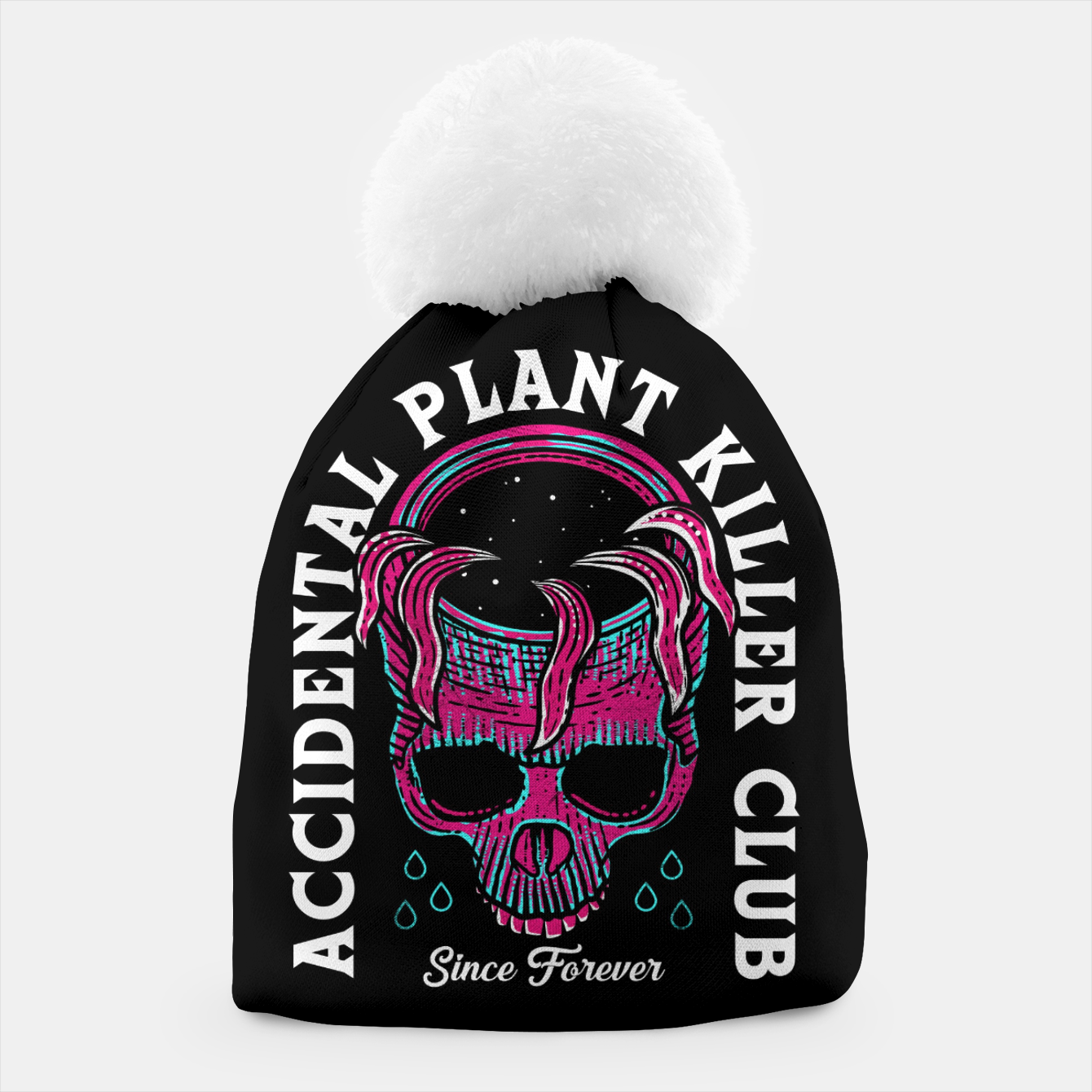 Image of Plant Killer Club Beanie - Live Heroes