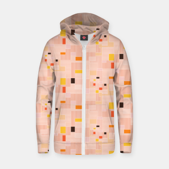 Miniatur Sunrise over the countryside  Zip up hoodie, Live Heroes