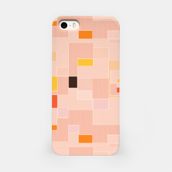 Miniatur Sunrise over the countryside  iPhone Case, Live Heroes