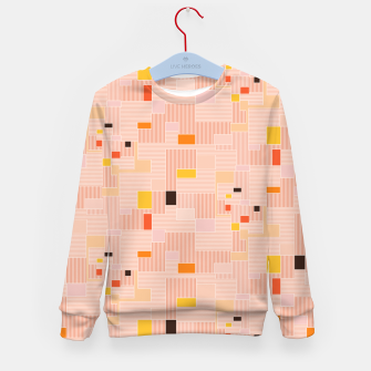 Miniatur Sunrise over the countryside  Kid's sweater, Live Heroes