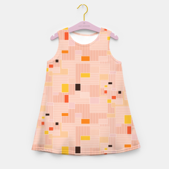 Miniatur Sunrise over the countryside  Girl's summer dress, Live Heroes