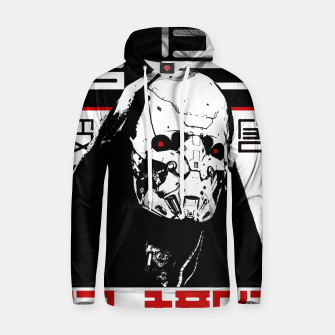 Thumbnail image of Cyberpunk Vaporwave Cyborg Urban Style Outfits Sudadera con capucha, Live Heroes