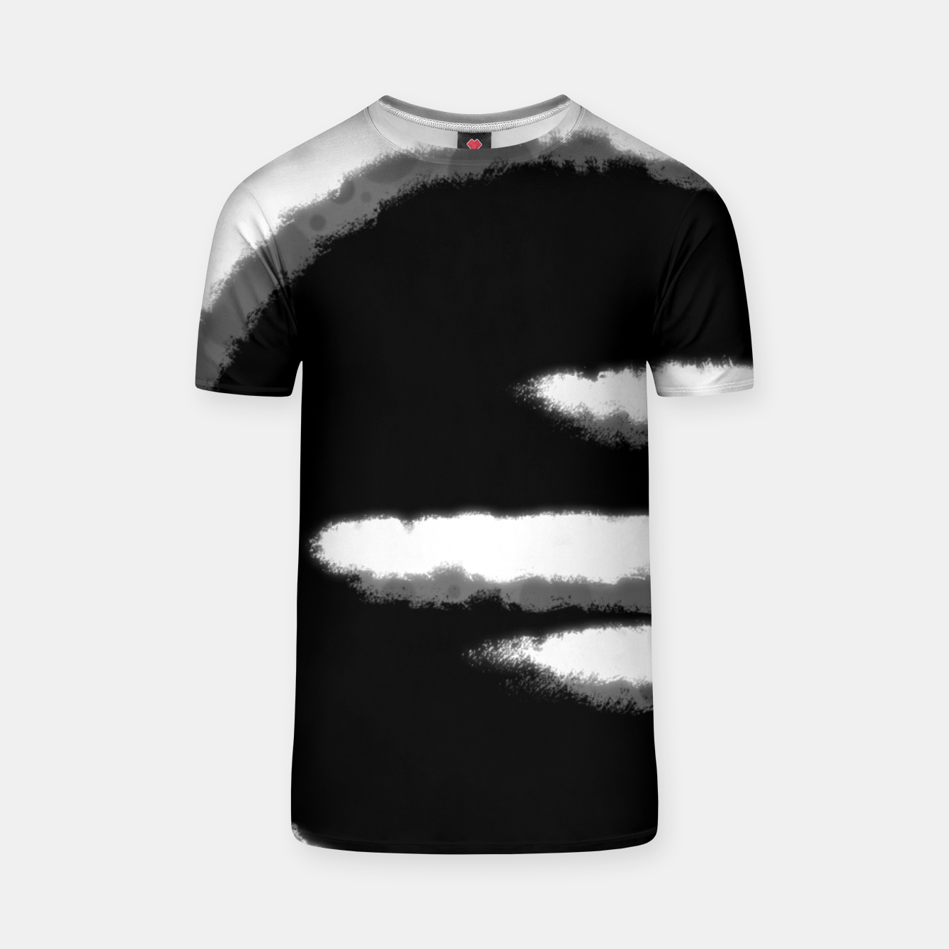 Image of white circle T-Shirt - Live Heroes