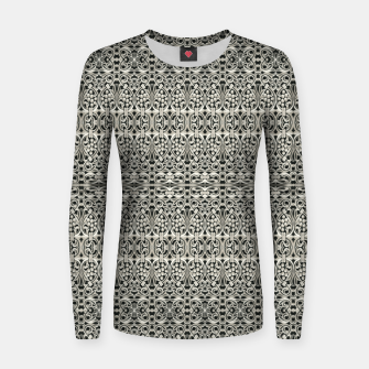 Thumbnail image of Fancy Abstract Ornate Pattern Women sweater, Live Heroes