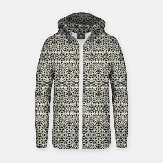 Thumbnail image of Fancy Abstract Ornate Pattern Zip up hoodie, Live Heroes