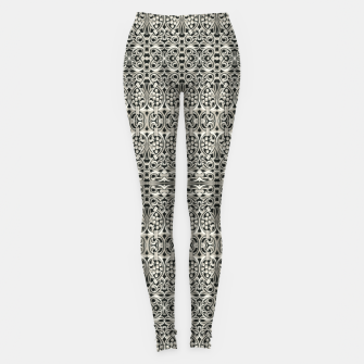 Thumbnail image of Fancy Abstract Ornate Pattern Leggings, Live Heroes
