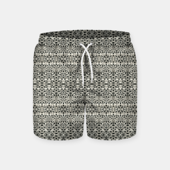 Thumbnail image of Fancy Abstract Ornate Pattern Swim Shorts, Live Heroes