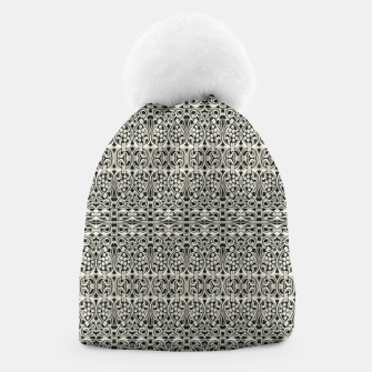 Thumbnail image of Fancy Abstract Ornate Pattern Beanie, Live Heroes