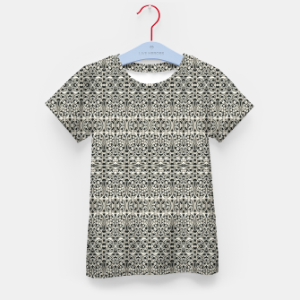 Thumbnail image of Fancy Abstract Ornate Pattern Kid's t-shirt, Live Heroes