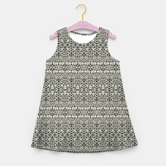 Thumbnail image of Fancy Abstract Ornate Pattern Girl's summer dress, Live Heroes