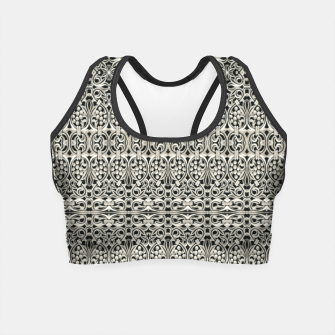 Thumbnail image of Fancy Abstract Ornate Pattern Crop Top, Live Heroes