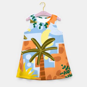 Thumbnail image of A beautiful day begins with a beautiful mindset  Girl's summer dress, Live Heroes