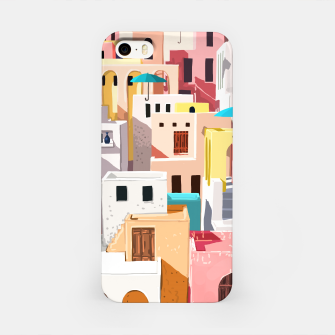 Thumbnail image of Pastel Cityscape iPhone Case, Live Heroes