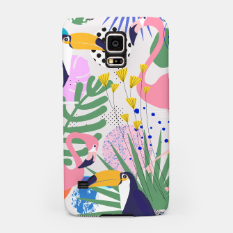 Thumbnail image of Tropical Spring  Samsung Case, Live Heroes