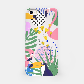 Thumbnail image of Tropical Spring  iPhone Case, Live Heroes