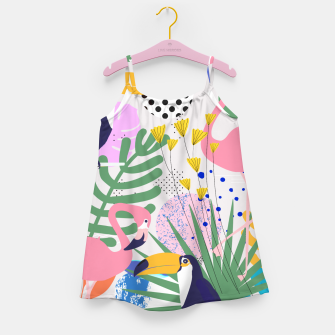 Thumbnail image of Tropical Spring  Girl's dress, Live Heroes