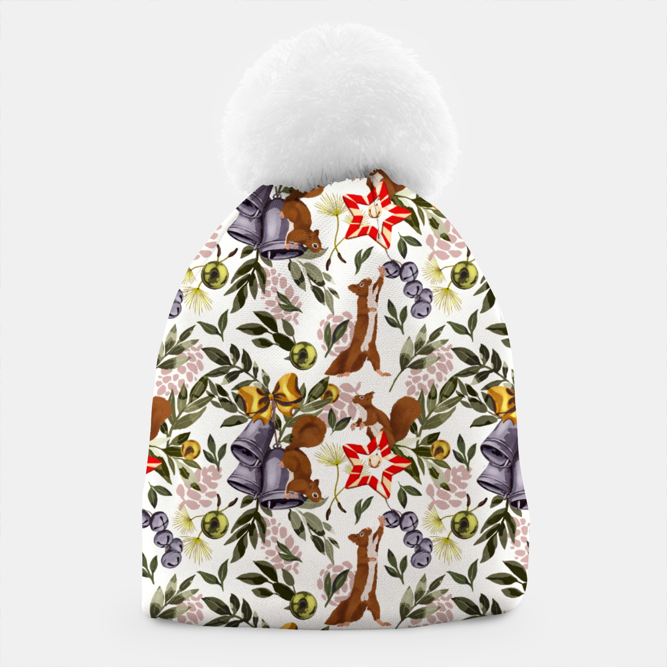 Image of Christmas squirrels I Gorro - Live Heroes